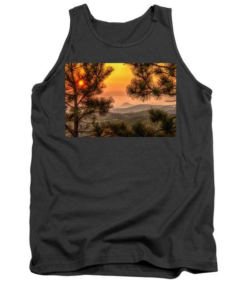 Smoky Black Hills Sunrise Tank Top