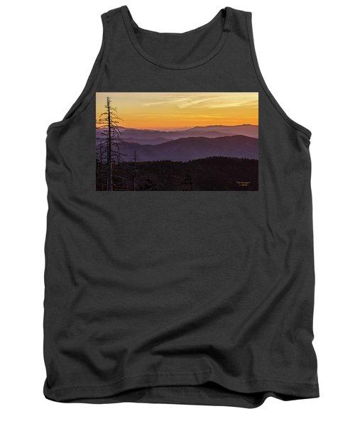Smoky Mountain Morning Tank Top