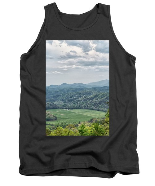 Smoky Mountain Scenic View Tank Top