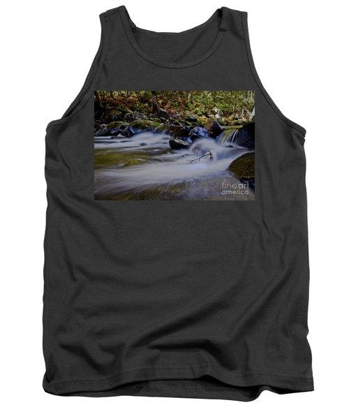 Tank Top featuring the photograph Smoky Mountain Stream by Douglas Stucky