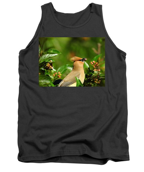 Tank Top featuring the photograph Snacking by Betty-Anne McDonald