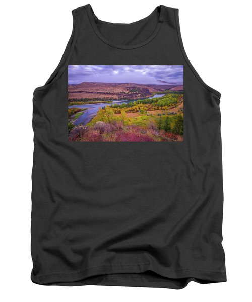 Snake River Fall Beauty  Tank Top