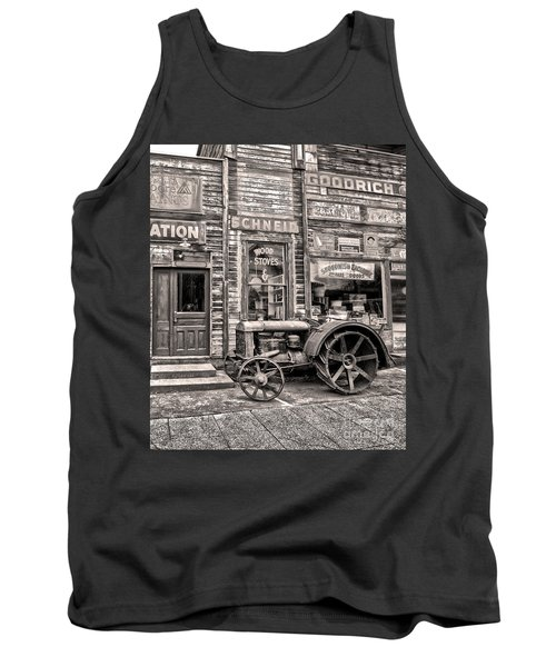 Snohomish Antiques Tank Top by Sonya Lang
