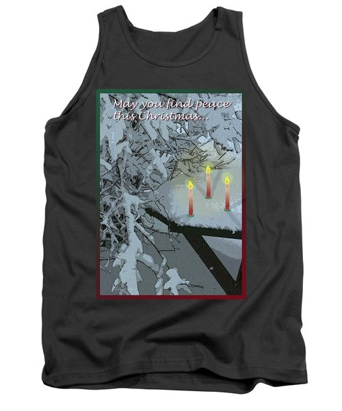Snow And Candlelight Tank Top