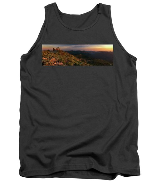 Snow Camp Lookout Tank Top by Leland D Howard