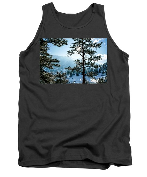 Snow-covered Trees Tank Top