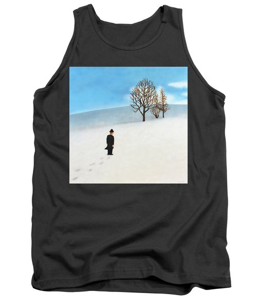 Snow Day Tank Top by Thomas Blood