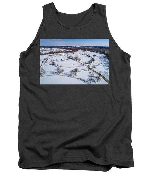 Snow Diamonds Tank Top