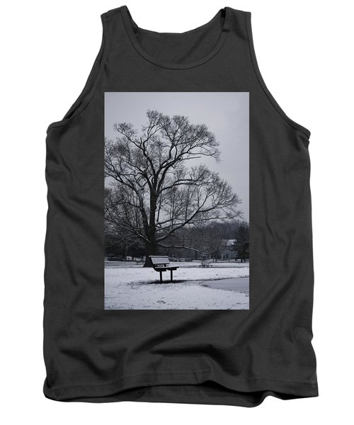 Snow In East Brunswick Tank Top by Vadim Levin