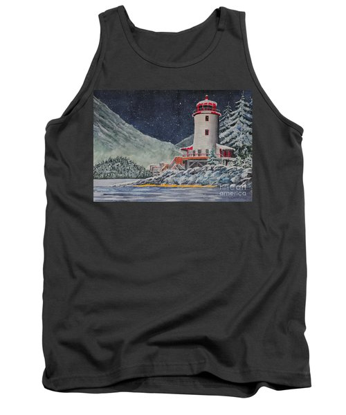 Snow On Sitka Sound Tank Top