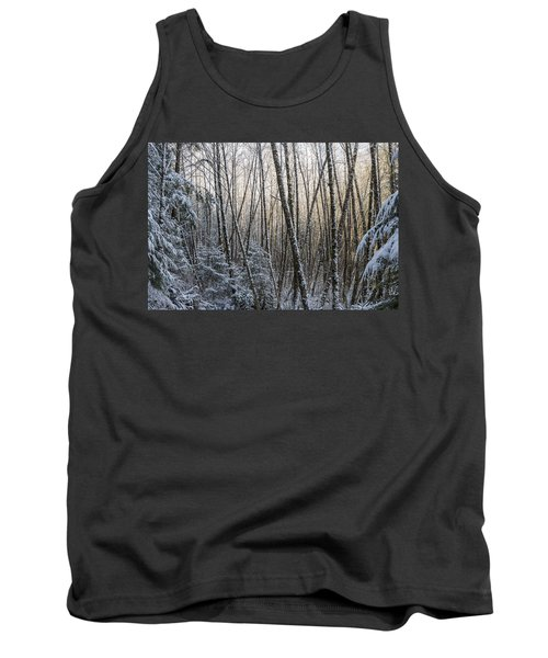 Snow On The Alders Tank Top