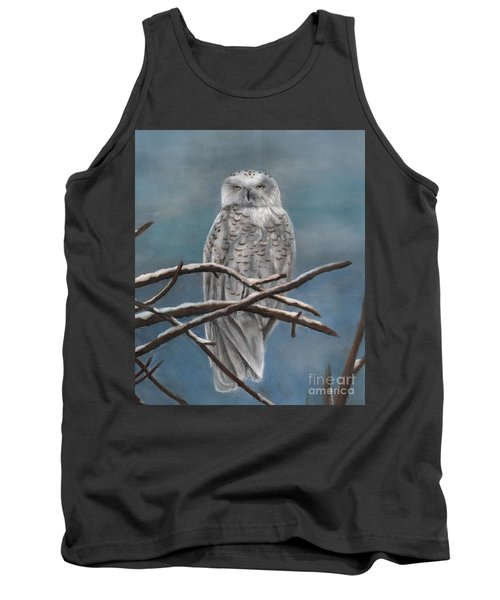 Snow Owl Tank Top
