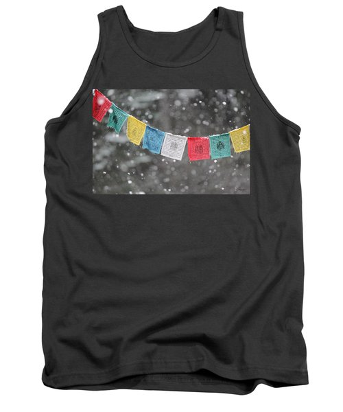 Snow Prayers Tank Top