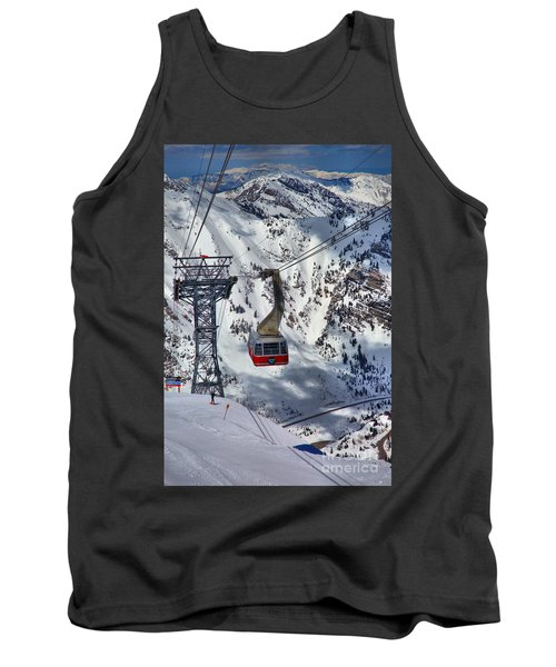 Snowbird Tram Portrait Tank Top