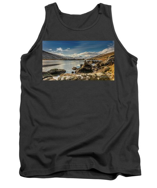 Tank Top featuring the photograph Snowdon From Llynnau Mymbyr by Adrian Evans