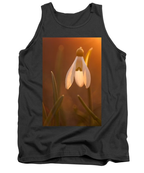 Tank Top featuring the photograph Snowdrop by Davorin Mance