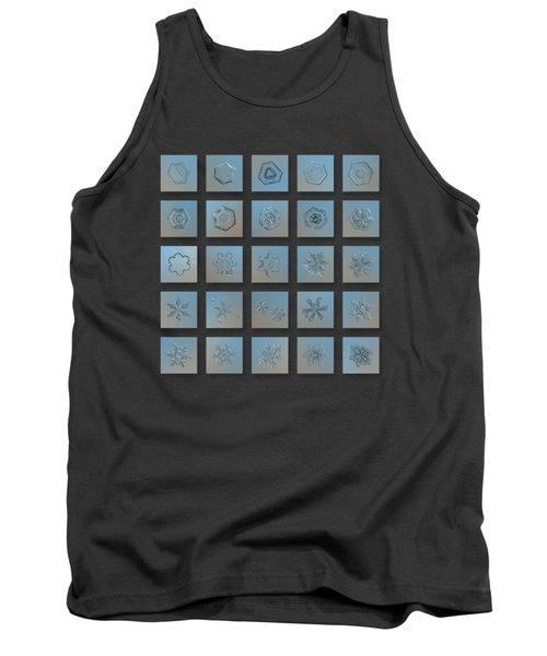 Snowflake Collage - Season 2013 Bright Crystals Tank Top