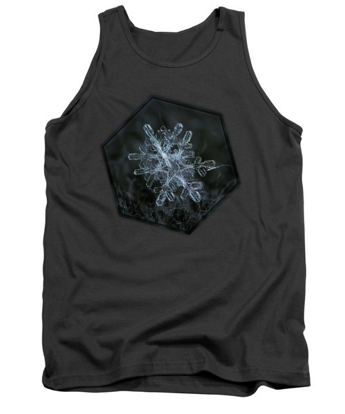 Tank Top featuring the photograph Snowflake Of January 18 2013 by Alexey Kljatov