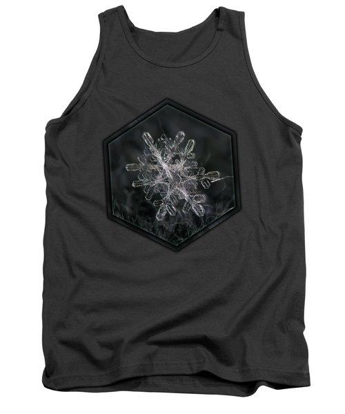 Snowflake Photo - January 18 2013 Grey Colors Tank Top