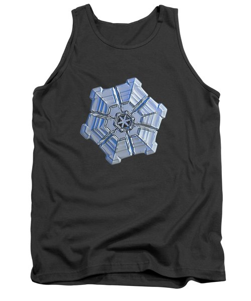 Tank Top featuring the photograph Snowflake Photo - Winter Fortress by Alexey Kljatov
