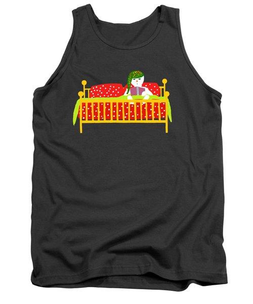 Snowman Bedtime Tank Top