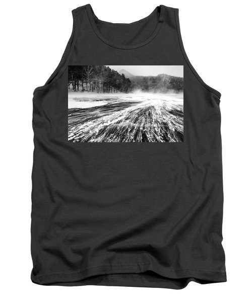 Tank Top featuring the photograph Snowstorm by Hayato Matsumoto