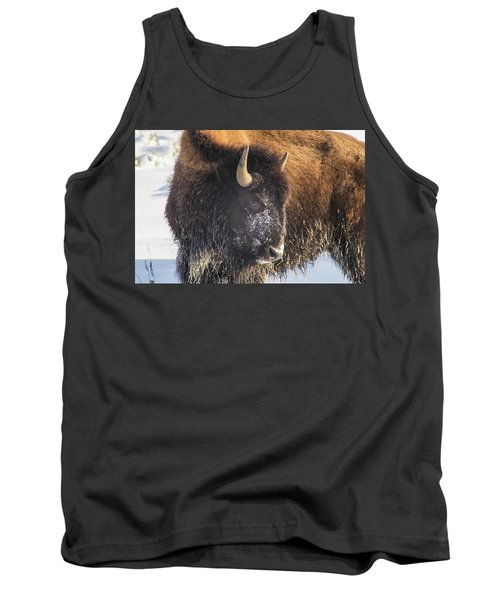 Snowy Bison Tank Top