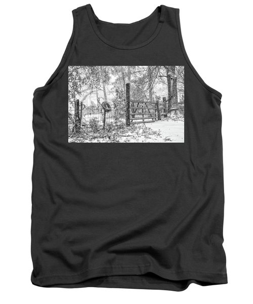 Snowy Cattle Gate Tank Top