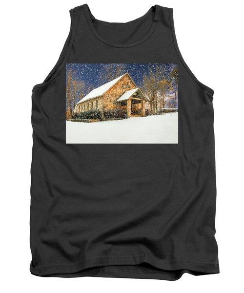 Snowy Cloudland Presbyterian Church  Tank Top