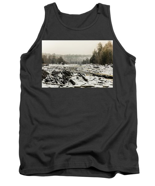 Snowy Morning At Jay Cooke Tank Top