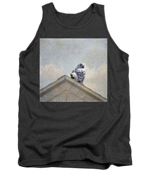 Snowy Owl  Tank Top