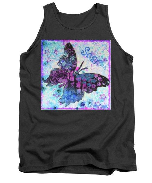 Soar Butterfly Tank Top
