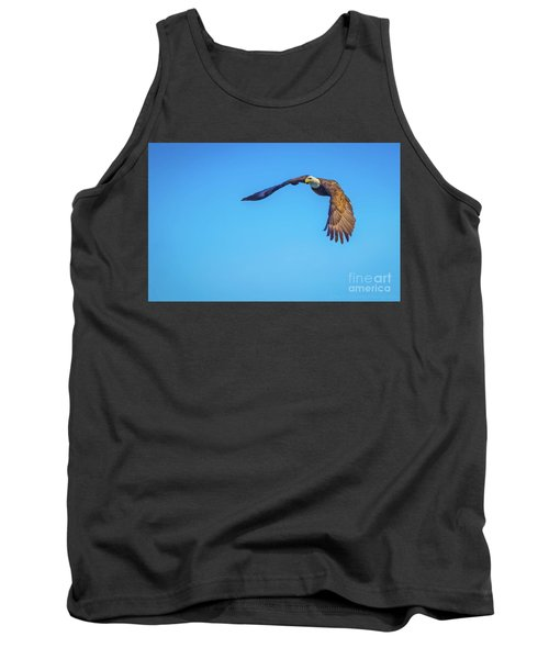 Soaring Eagle Tank Top by John Roberts