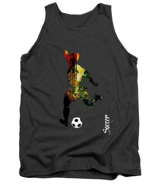 Soccer Collection Tank Top by Marvin Blaine