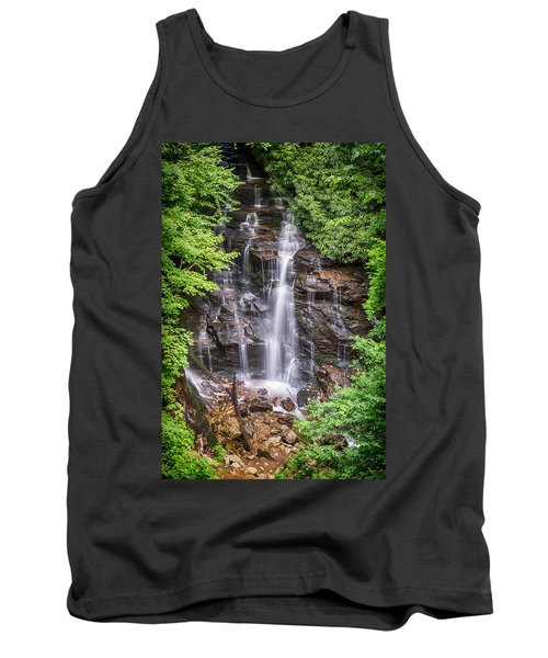 Tank Top featuring the photograph Socco Falls by Stephen Stookey