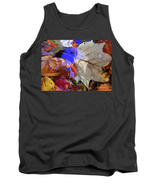 Soft Light Leaves Tank Top by Todd Breitling