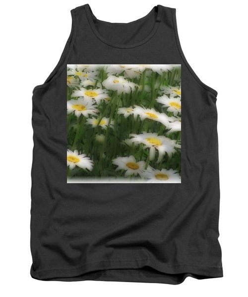 Tank Top featuring the photograph Soft Touch Daisy by Debra     Vatalaro