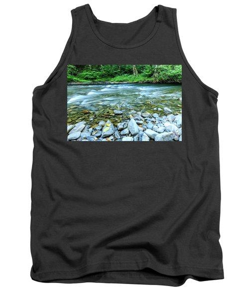 Sol Duc River In Summer Tank Top