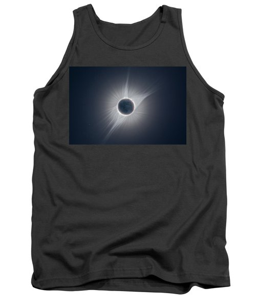 Solar Corona During The Eclipse Of August 21 2017 Tank Top