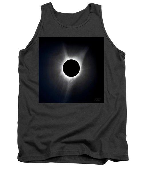 Solar Eclipse Totality Corona Tank Top