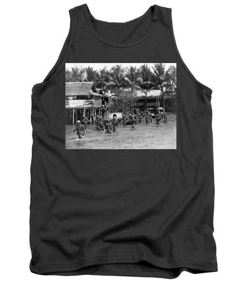 Soldiers In The Mekong Delta Tank Top