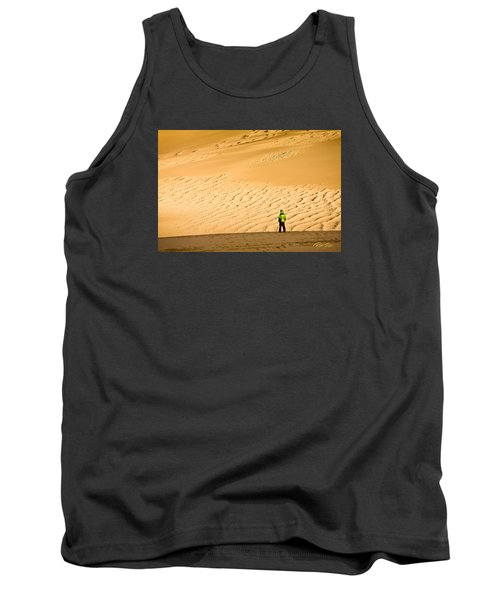 Tank Top featuring the photograph Solitude In The Dunes by Rikk Flohr