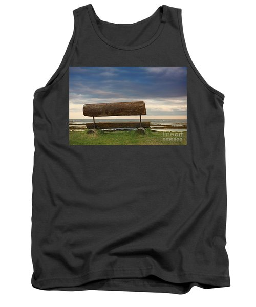 Tank Top featuring the photograph Solitude.. by Nina Stavlund