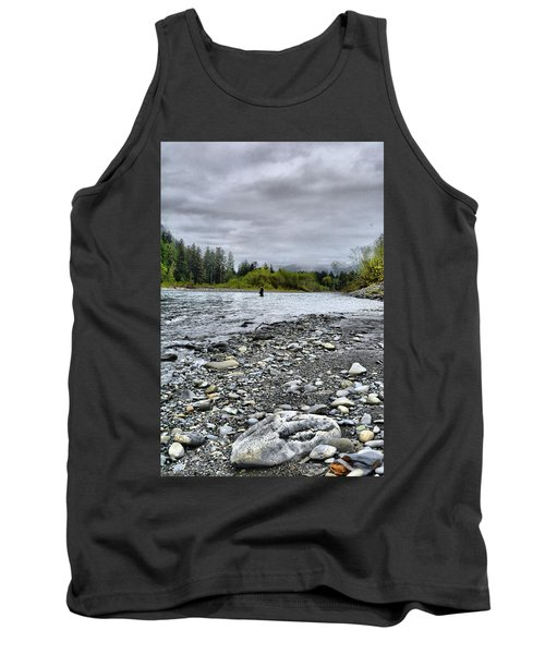 Solitude On The River Tank Top