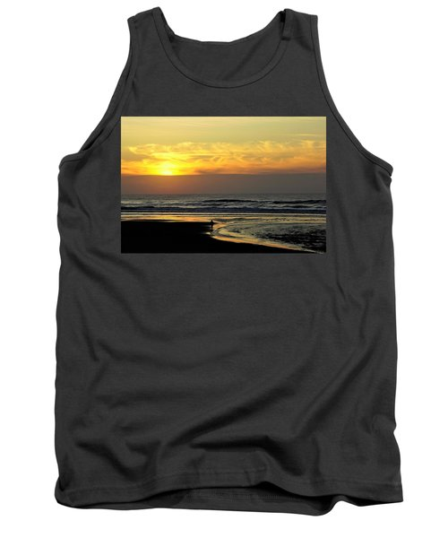 Solo Sunset On The Beach Tank Top