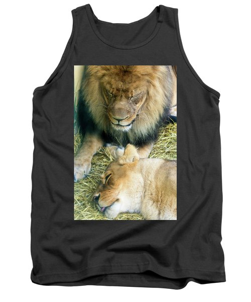 Someone To Watch Over Me Tank Top by David Stasiak