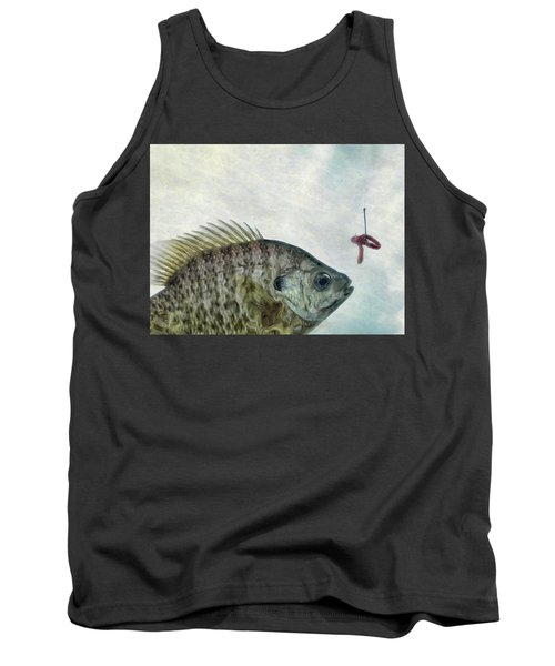 Tank Top featuring the photograph Something Fishy by Mark Fuller