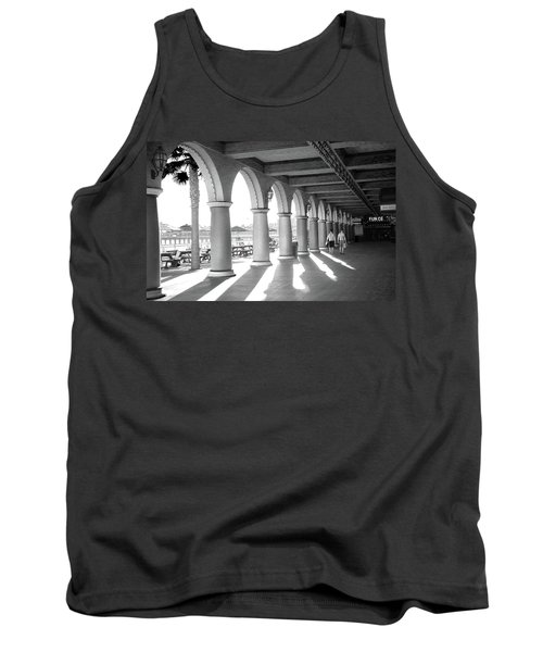 Tank Top featuring the photograph Sometimes The Party Is Over by Lora Lee Chapman