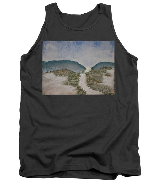 Tank Top featuring the painting Somewhere In Florida by Antonio Romero