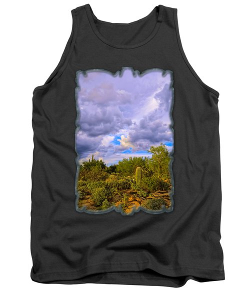 Sonoran Desert V13 Tank Top by Mark Myhaver